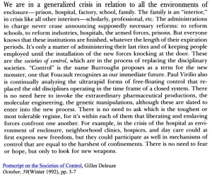generalized crisis