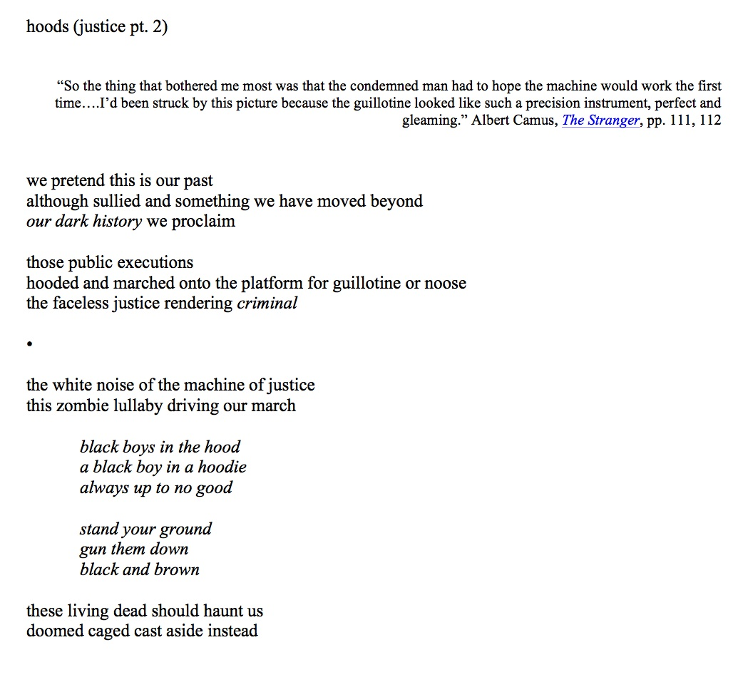 poetic justice essay