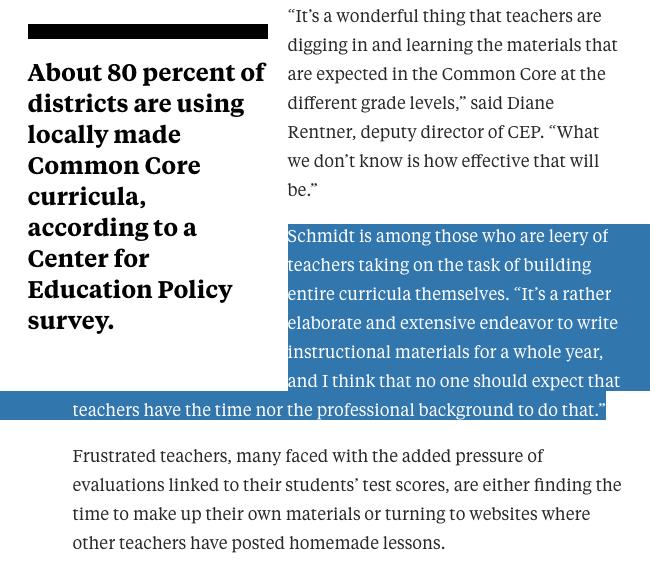 leery of teachers