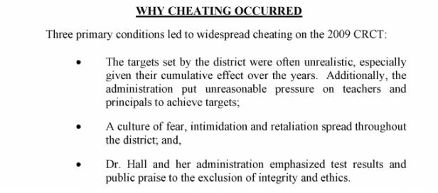 ATL cheating