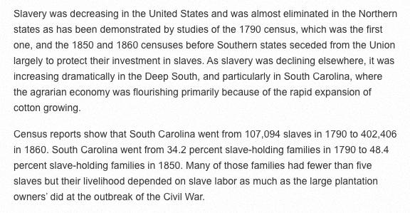 SC slavery
