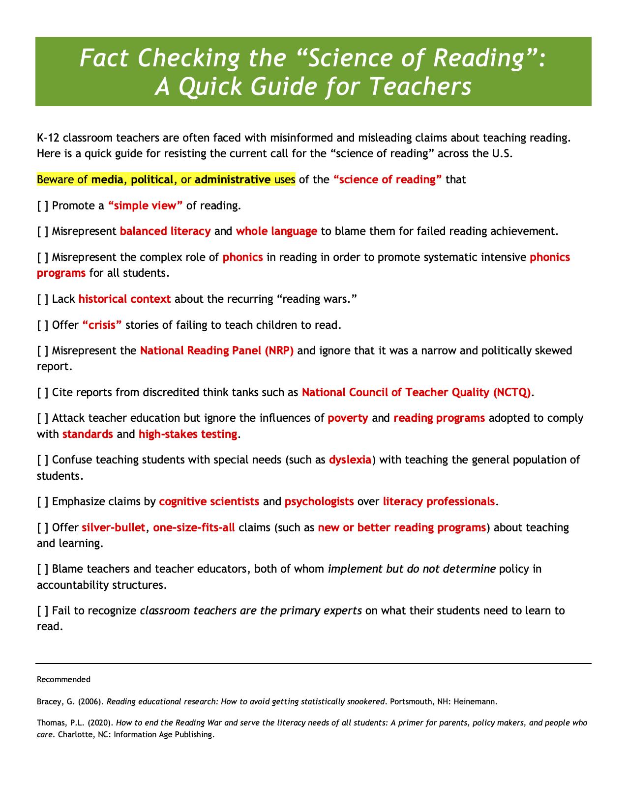 Fact Checking SoR quick guide copy